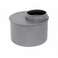 Переход внутренней канализации эксцентрический 110/50 короткий