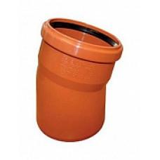 Отвод наружной канализации НПВХ 110*15