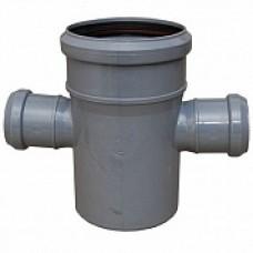 Крестовина внутренней канализации одноплоскостная 110*50*50 /87,5˚