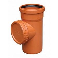 Ревизия наружной канализации НПВХ 110