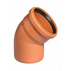 Отвод наружной канализации НПВХ 110*45