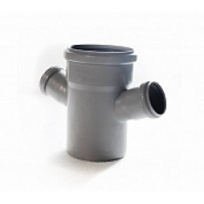 Крестовина внутренней канализации одноплоскостная 110*50*50 /45˚