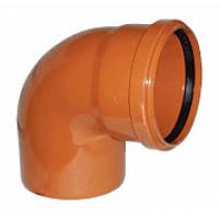 Отвод наружной канализации НПВХ 250*90