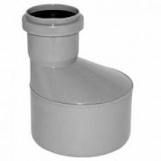 Переход внутренней канализации эксцентрический 110/50 длинный