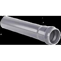 Труба напорная НПВХ 125 SDR 33 Dn диаметр 110 мм, стенка 3,4 мм, длина 3120 мм